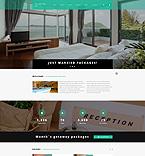 Hotels Joomla  Template 55286