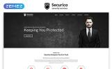 Responsivt Securico - Security Responsive Modern HTML Hemsidemall