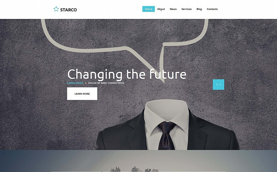 Szablon Moto CMS HTML #55299 na temat: biznes i usługi New Screenshots BIG