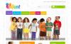 Адаптивний PrestaShop шаблон на тему дитячий магазин New Screenshots BIG