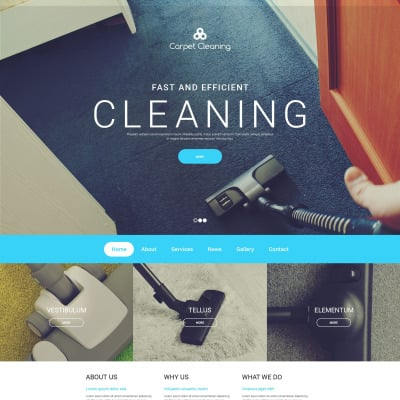 27+ Best Cleaning Website Templates