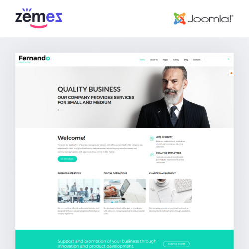 Fernando - Joomla! Template based on Bootstrap