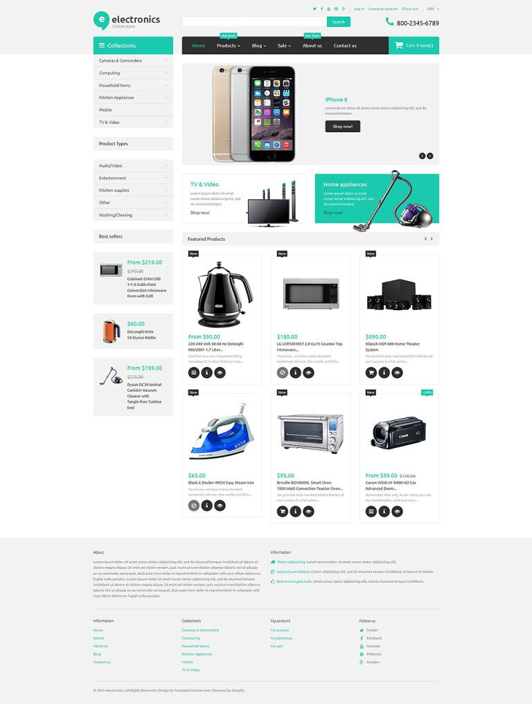 Electronics Retailer Shopify Theme New Screenshots BIG