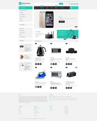 Electronics Retailer Shopify Theme #55233