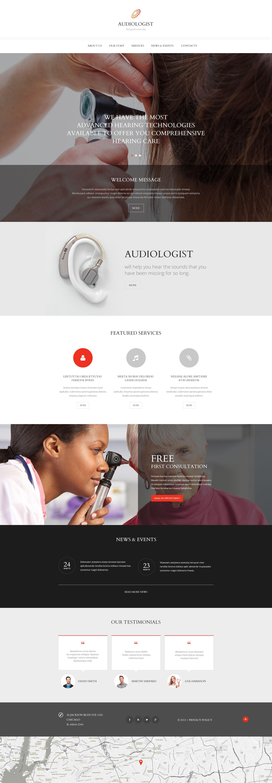 """""""Équipement médical"""" modèle web adaptatif #55238"""