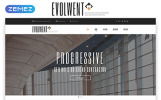 Evolwent - Interior Design Responsive Modern HTML Template Web №55224