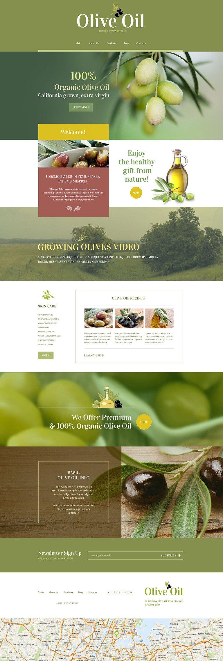 Food Store WordPress Theme New Screenshots BIG
