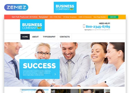 Free Business Responsive