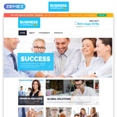 free business responsive template bootstrapwebsite - Free Website Templates