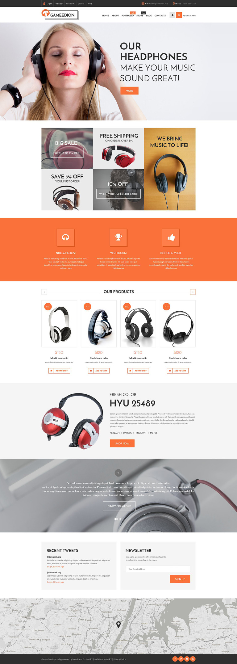 Gameedion WooCommerce Theme New Screenshots BIG