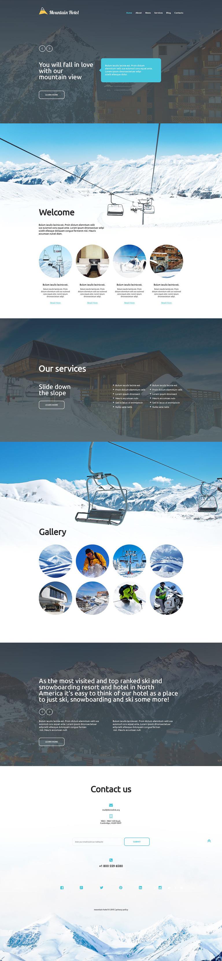 Hotel Business Website Template New Screenshots BIG