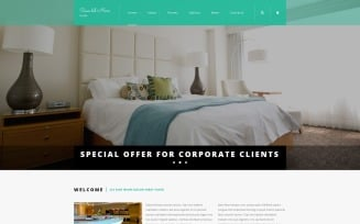 Hotel Suite Joomla Template