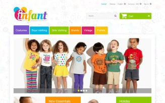 Infant PrestaShop Theme