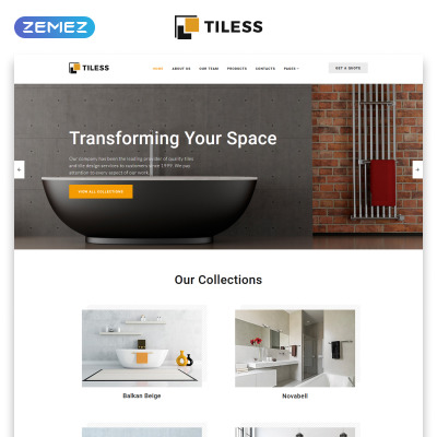 48 Best Interior Design Website Templates Extraordinary Interior Design Web Templates