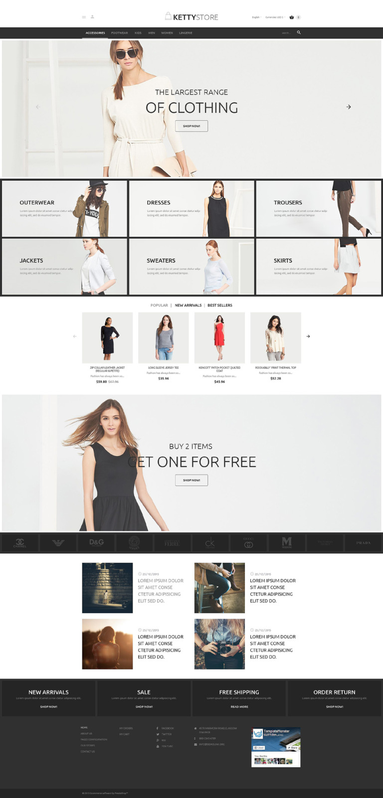 KettyStore PrestaShop Theme New Screenshots BIG