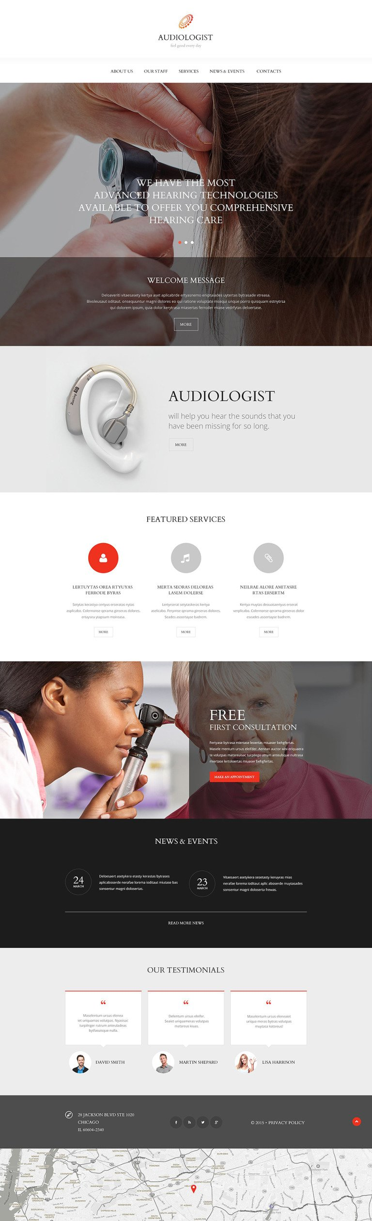 Medical Equipment Website Template New Screenshots BIG