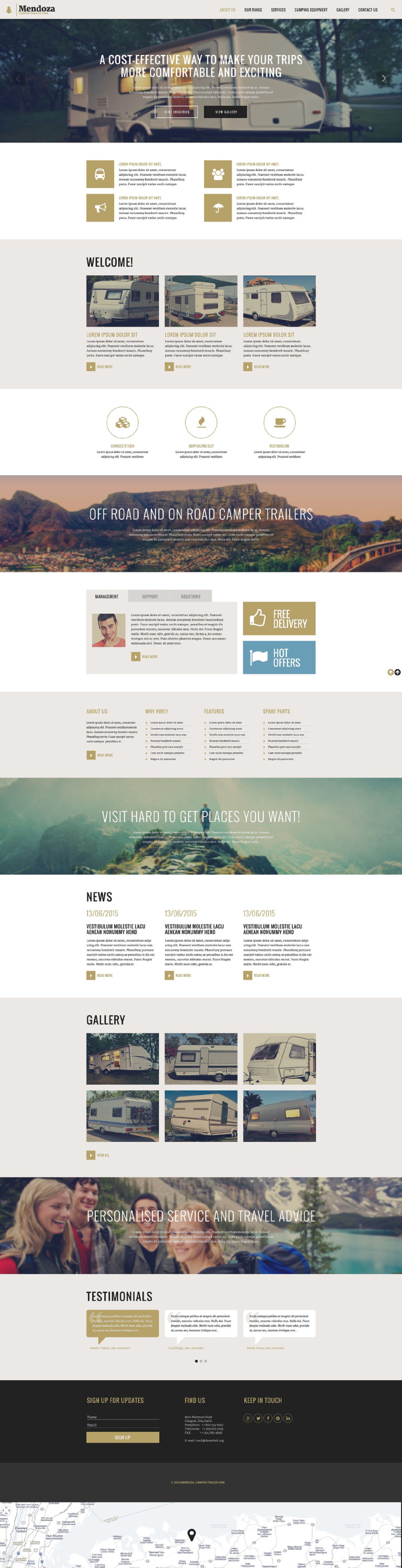 Mendoza Website Template New Screenshots BIG