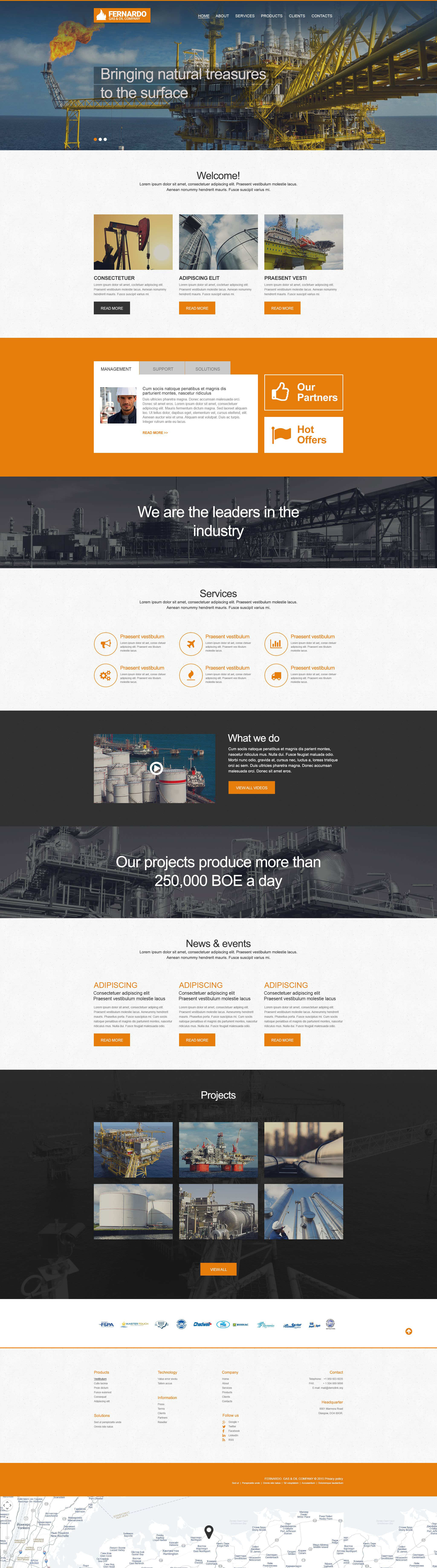 Muse Template over Gas en Olie №55251