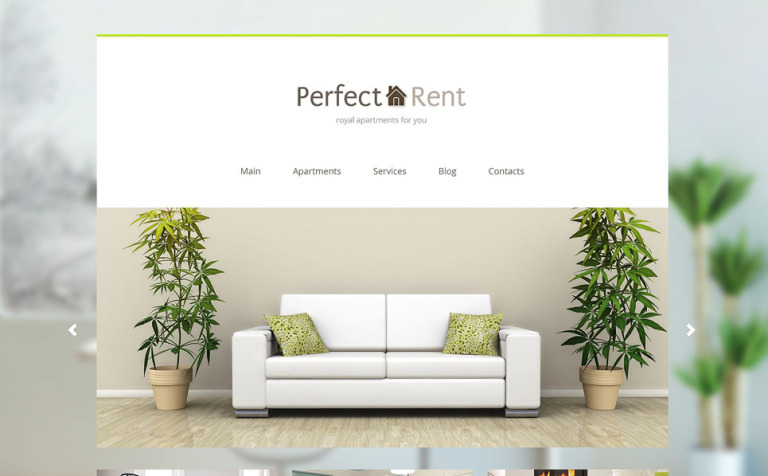 Perfect Rent Joomla Template