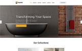 Plantilla Web para Sitio de Diseño interior