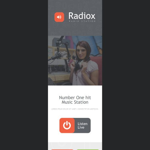 Radio Website - Responsive Newsletter Template