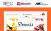 Responsive Flower Shop Woocommerce Teması New Screenshots BIG