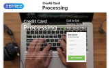 Responsywny szablon Landing Page Credit Card Processing - Merchant Services Creative HTML #55254