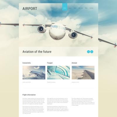 Private Airline Responsive Joomla šablona