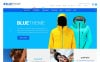 Reszponzív Blue Magento sablon New Screenshots BIG
