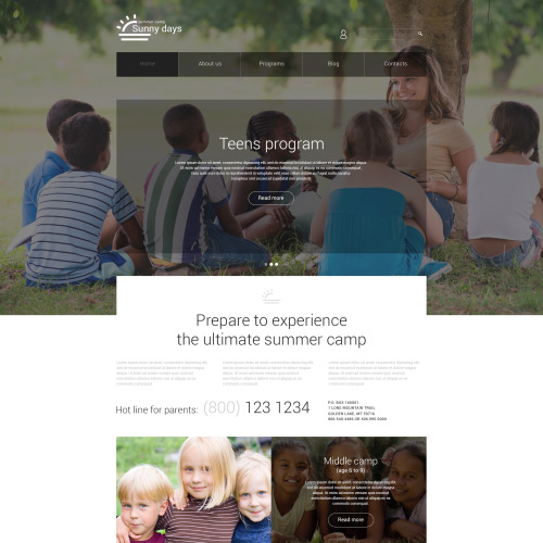 Sunny Days - Joomla! Template based on Bootstrap