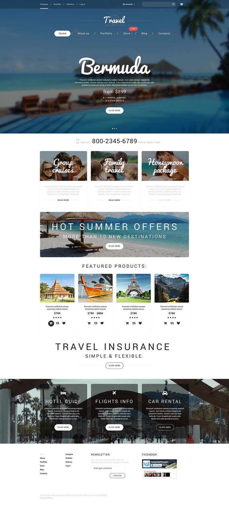 Vacation Agency WooCommerce Theme New Screenshots BIG