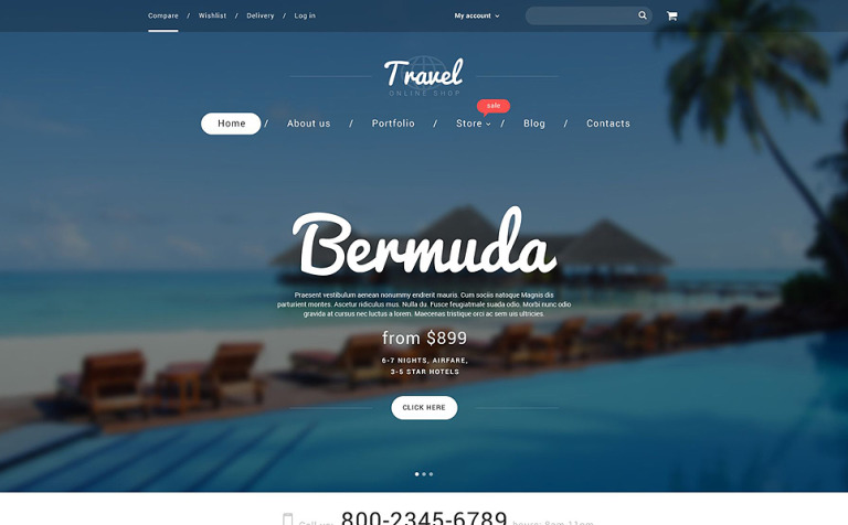 Vacation Agency WooCommerce Theme