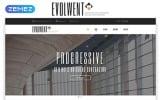 "Website Vorlage namens ""Evolwent - Interior Design Responsive Modern HTML"""