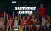 "Website Vorlage namens ""Summer Camp"" New Screenshots BIG"