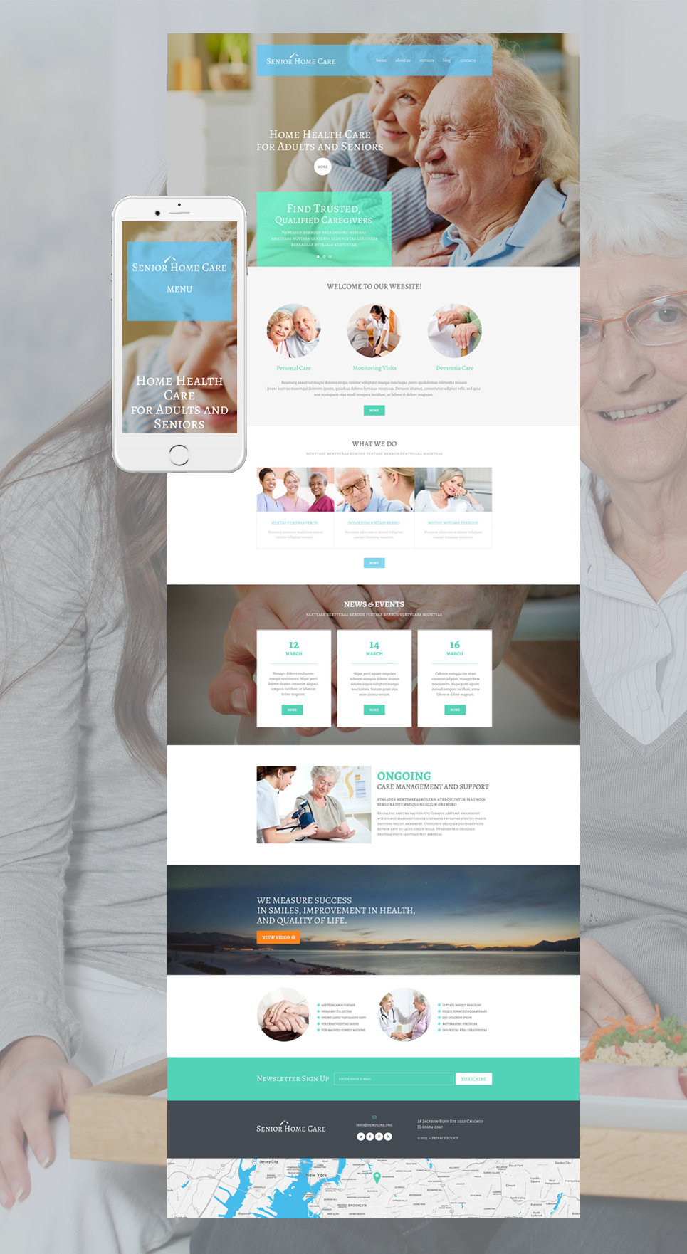 WordPress Theme #55229 für Arzt