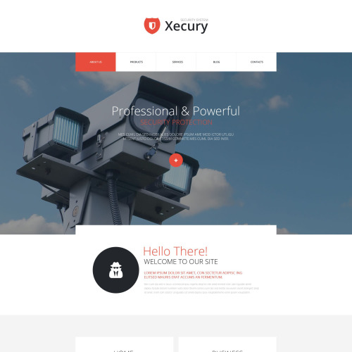 Xecury - Joomla! Template based on Bootstrap