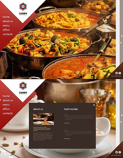 ADOBE Photoshop Template 55300 Home Page Screenshot