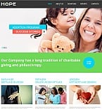 Charity Moto CMS HTML  Template 55302