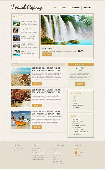 ADOBE Photoshop Template 55309 Home Page Screenshot