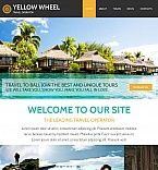 Travel Moto CMS HTML  Template 55312