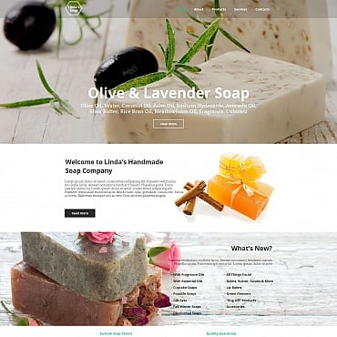 Preview image of Hobbies & Crafts Moto CMS HTML Template No. 55314