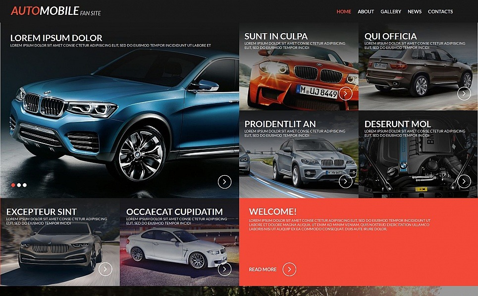 Premium Moto CMS HTML Template over Nagel Salon  New Screenshots BIG