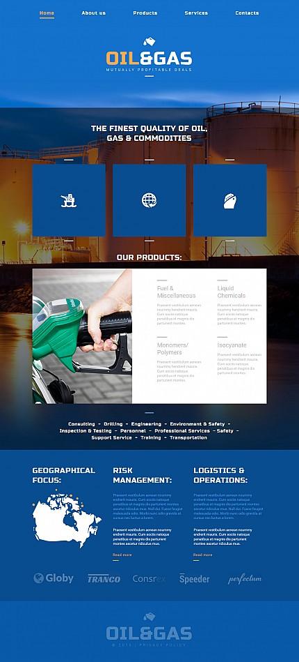 Website Template #55327