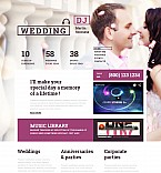 Wedding Moto CMS 3  Template 55337