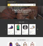 Sport WooCommerce Template 55340