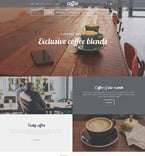 Cafe & Restaurant Shopify Template 55341