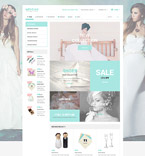 Wedding osCommerce  Template 55342