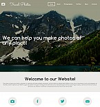 Art & Photography Moto CMS 3  Template 55346