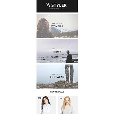 Купить  пофессиональные Email шаблоны. Купить шаблон #55348 и создать сайт.