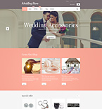 Wedding WooCommerce Template 55351